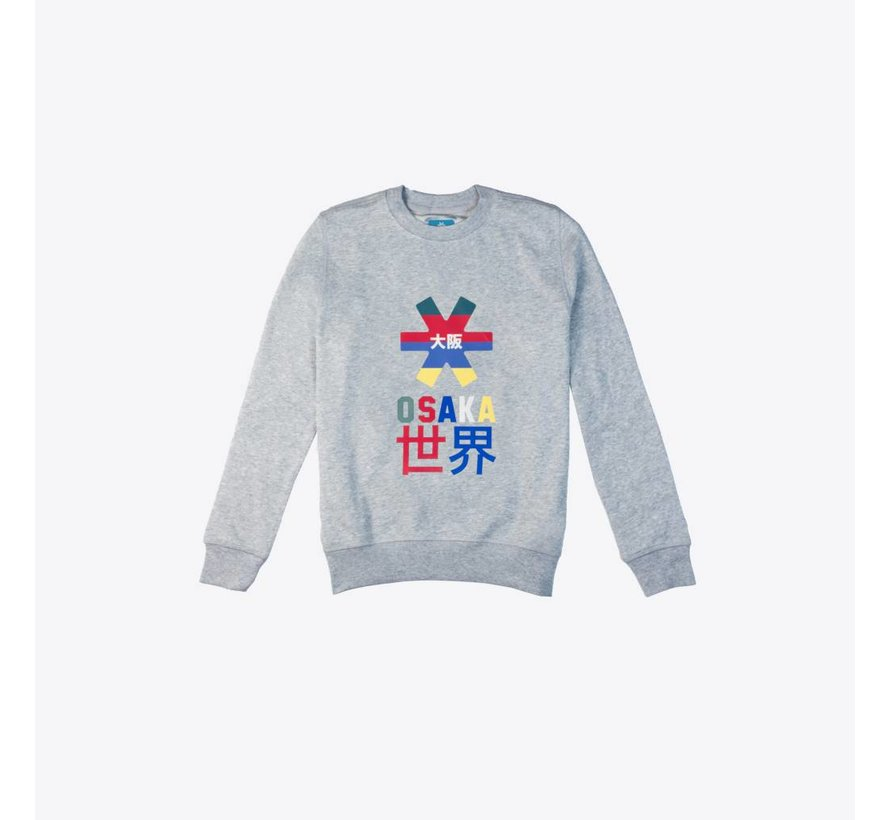Deshi Throwback Nauthical Sweater Grijs