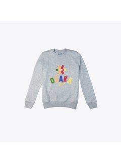 Osaka Deshi Multi Sweater Grau