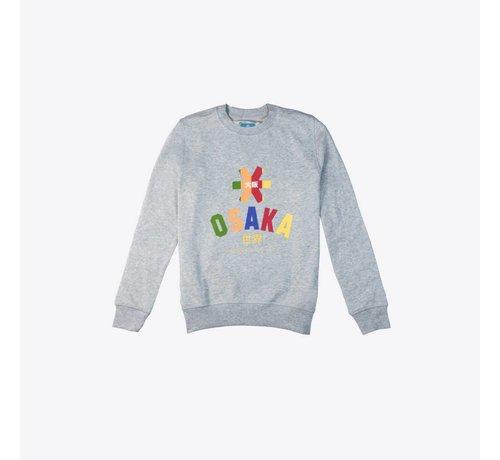 Osaka Deshi Multi Sweater Grijs