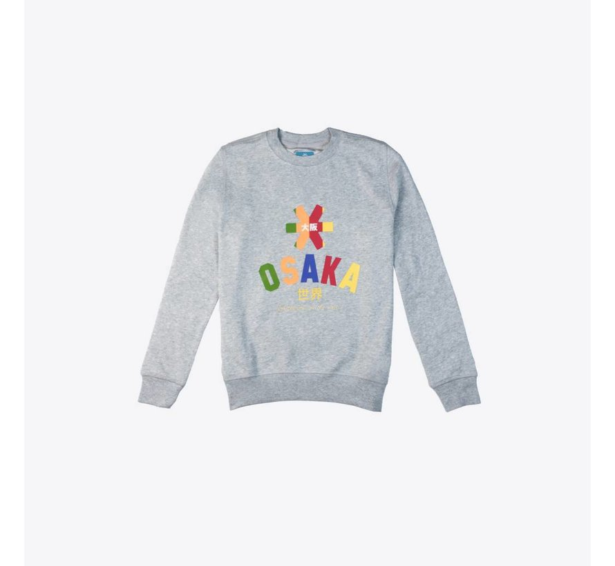 Deshi Multi Sweater Grijs
