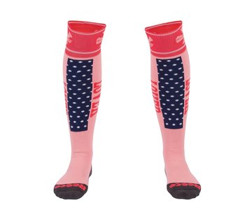 Reece Louth Socks Coral/Navy