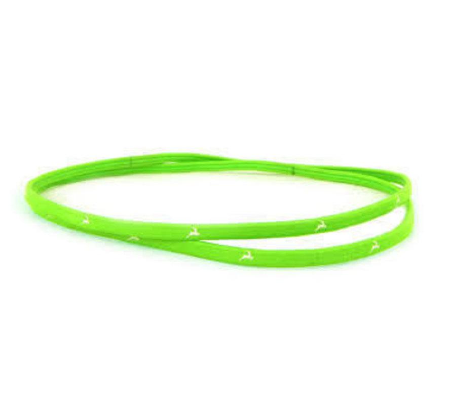 Sport Haarbänder Fluo Grün