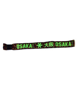 Osaka Bracelet Green Leopard