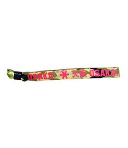 Osaka Bracelet Pink/Grün Camo