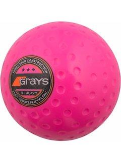 Grays Hockeybal X-Heavy Roze