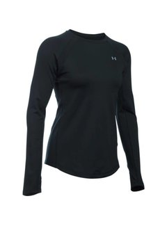 Under Armour Coldgear Armour Crew Women Black