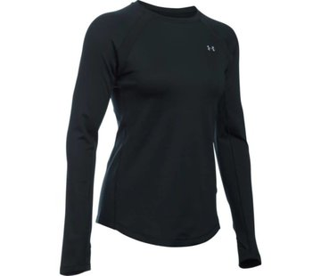 Under Armour Coldgear Armour Crew Damen Schwarz