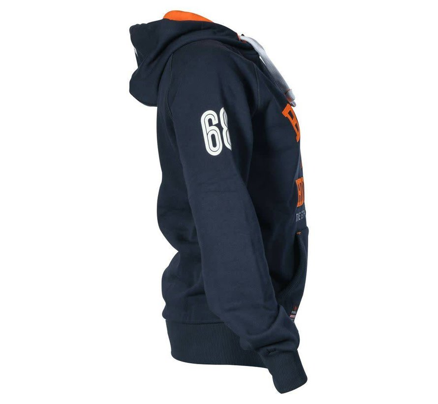 Hooded Sweat Navy Uni