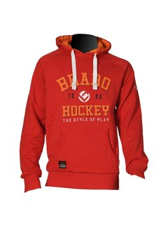 Brabo Hooded Sweat Rood Uni