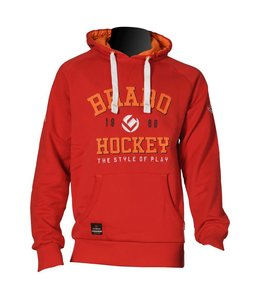 Brabo Hooded Sweat Rot Uni