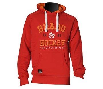 Brabo Hooded Sweat Rood Uni