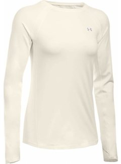Under Armour Coldgear Armour Crew Women Ivory