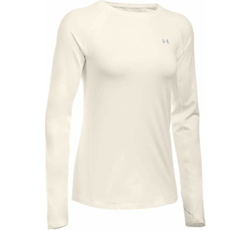 Under Armour Coldgear Armour Crew Damen Beige
