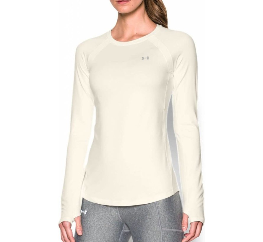 Coldgear Armour Crew Damen Beige