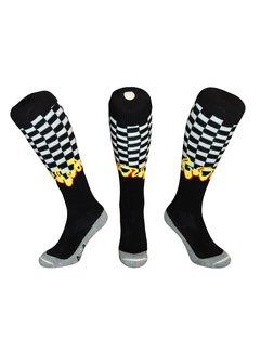Hingly Hockey Socke in Flammen