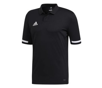 Adidas T19 Polo Herren Schwarz