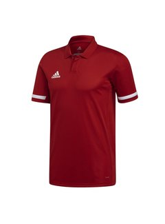 Adidas T19 Polo Heren Rood
