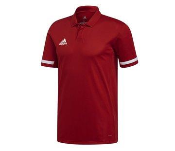 Adidas T19 Polo Herren Rot