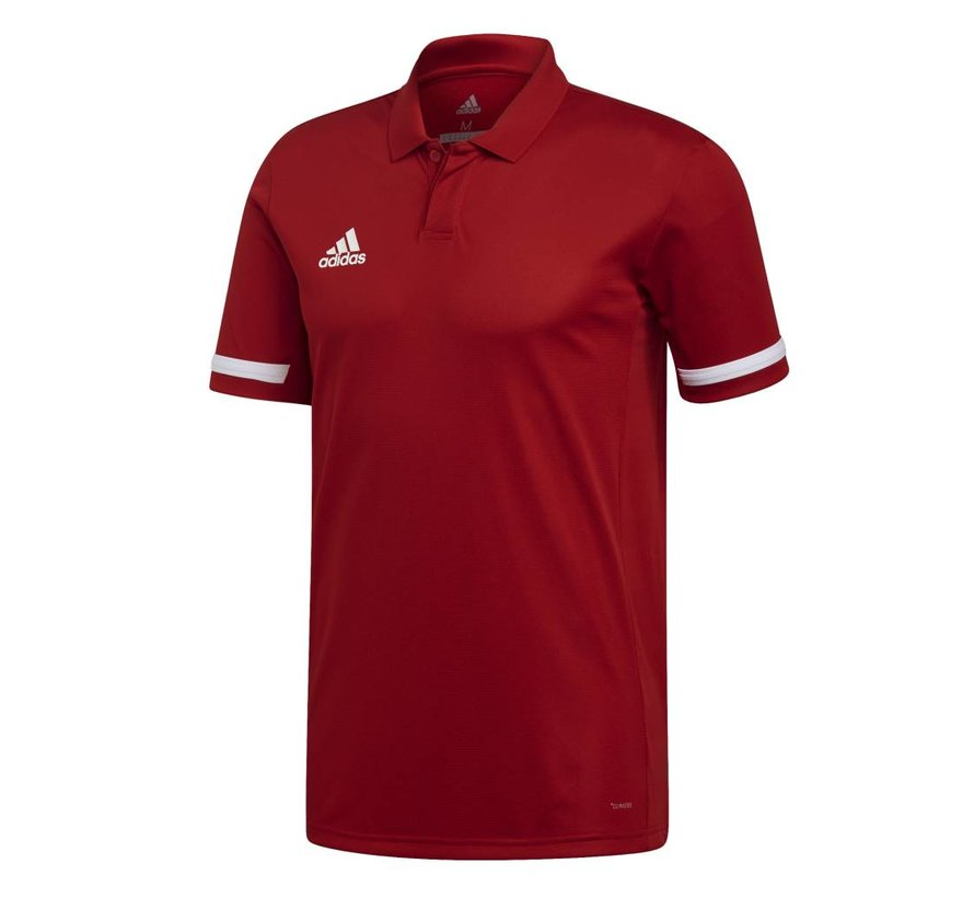 T19 Polo Heren Rood