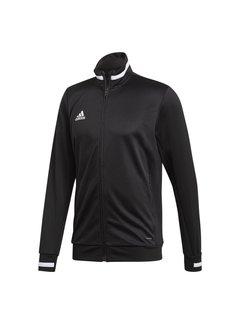 Adidas T19 Track Jacket Heren Zwart