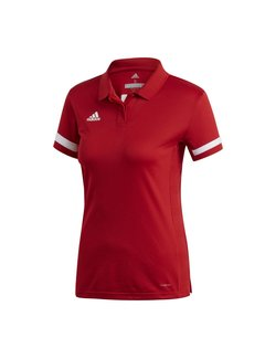 Adidas T19 Polo Women Red