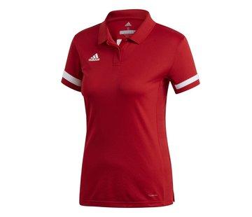 Adidas T19 Polo Damen Rot