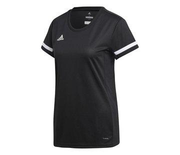 Adidas T19 Shirt Jersey Dames Zwart