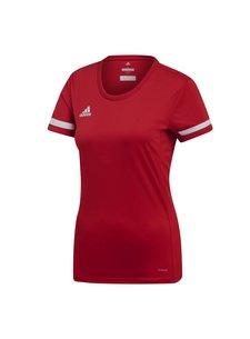 Adidas T19 Shirt Jersey Dames Rood