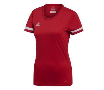 Adidas T19 Shirt Jersey Damen Rot