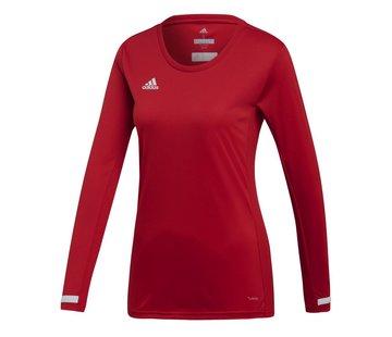 Adidas T19 Longsleeve Jersey Dames Rood