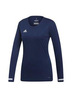 Adidas T19 Longsleeve Jersey Dames Navy