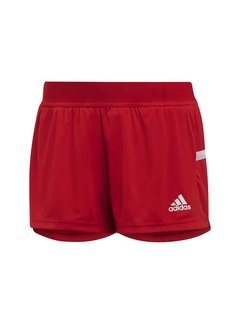Adidas T19 Running Short Damen Rot