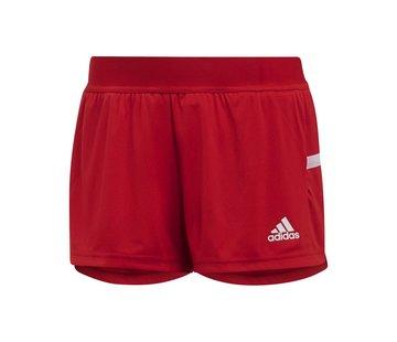 Adidas T19 Running Short Damen Rot