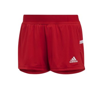 Adidas T19 Running Short Dames Rood