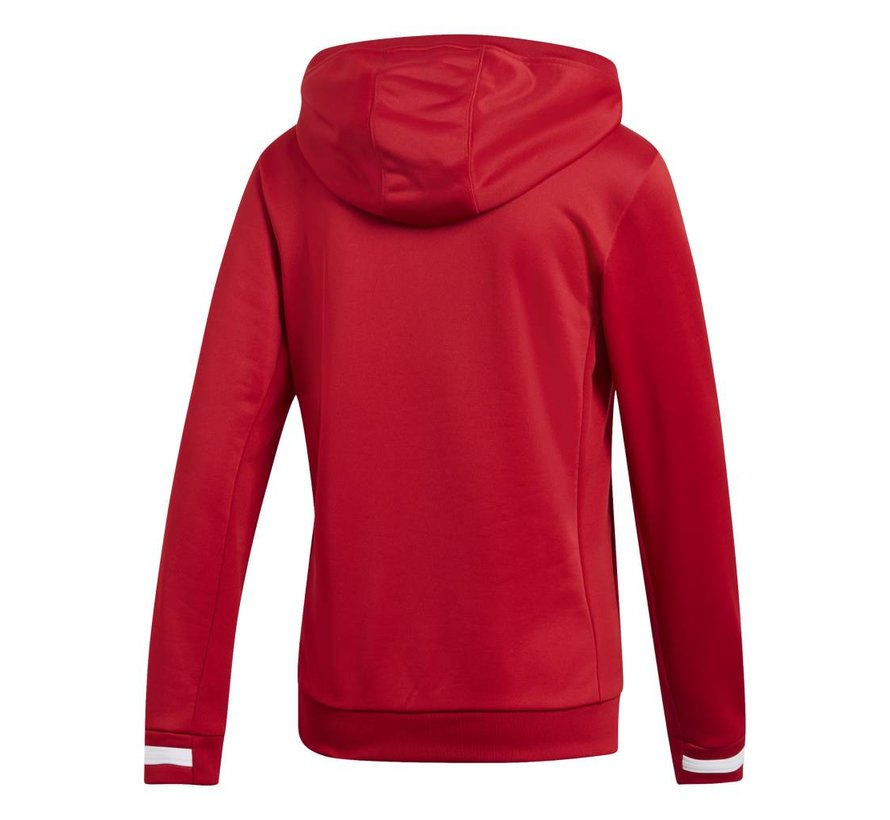T19 Hoody Damen Rot
