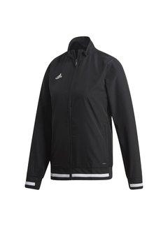 Adidas T19 Woven Jacket Dames Zwart