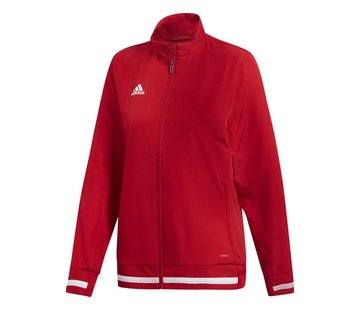 Adidas T19 Woven Jacket Dames Rood