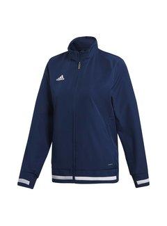 Adidas T19 Woven Jacket Ladies Navy