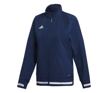 Adidas T19 Woven Jacket Dames Navy
