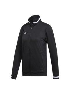 Adidas T19 Track Jacket Dames Zwart
