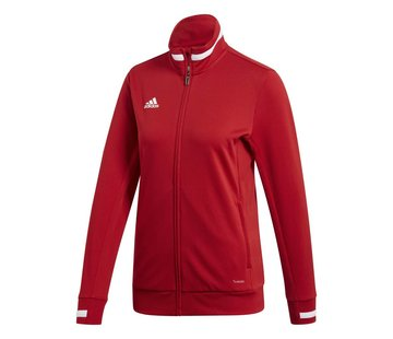 Adidas T19 Track Jacket Dames Rood