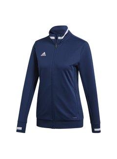 Adidas T19 Track Jacket Ladies Navy