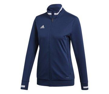Adidas T19 Track Jacket Dames Navy