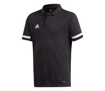 Adidas T19 Polo Youth Boys Zwart