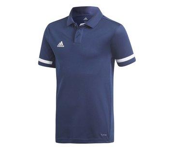 Adidas T19 Polo Youth Boys Navy