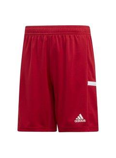 Adidas T19 Short Youth Boys Rood