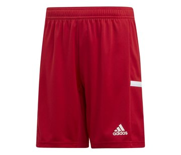Adidas T19 Short Youth Boys Rood