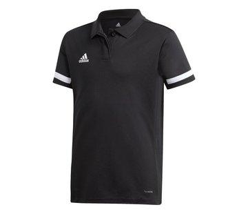 Adidas T19 Polo Mädchen Schwarz