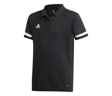 Adidas T19 Polo Youth Girls Zwart