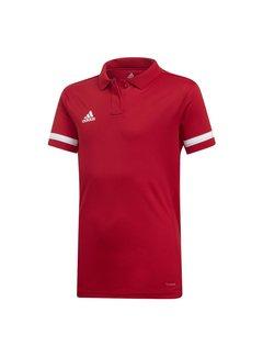 Adidas T19 Polo Mädchen Rot